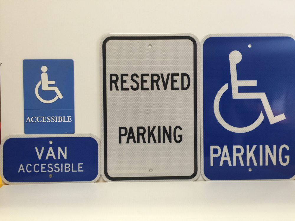 Custom & Stock ADA signs